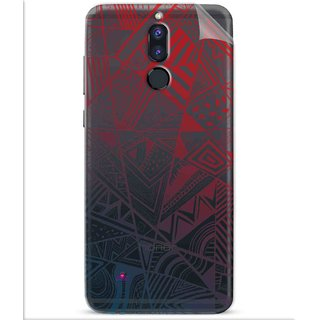 Snooky Digital Print Tpu Transpanent Mobile Skin Sticker For Huawei Honor 9i