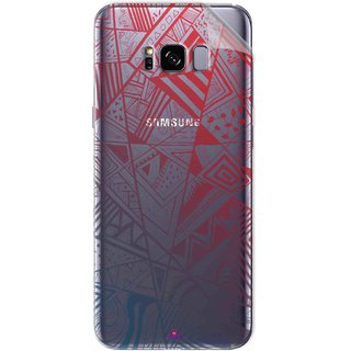 Snooky Digital Print Tpu Transpanent Mobile Skin Sticker For Samsung Galaxy S8