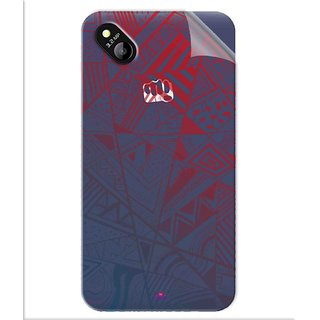 Snooky Digital Print Tpu Transpanent Mobile Skin Sticker For Micromax Bolt D303