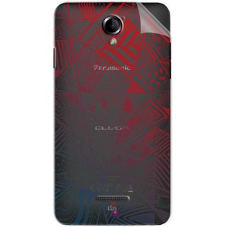 Snooky Digital Print Tpu Transpanent Mobile Skin Sticker For Panasonic Eluga L2