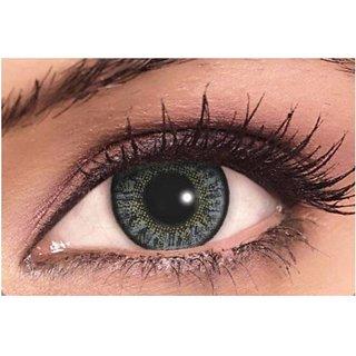 ee036552f50 Buy Optify Dark Grey Monthly Color Contact Lens (Zero Power