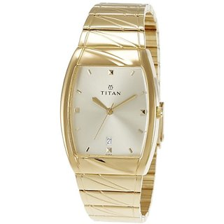 Titan Karishma Analog Gold Dial Mens Watch -NK9315YM02