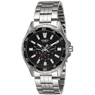 Casio Enticer Analog Black Dial Mens Watch-MTD-300D-1AVDF (A1156)