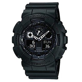 Casio G-Shock Analog-Digital Black Dial Mens Watch - GA-100-1A1DR (G270)