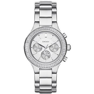 DKNY Analog Silver Round Womens Watch-NY2394