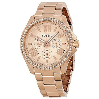 Fossil Chronograph Multi Round Womens Watch-AM4483