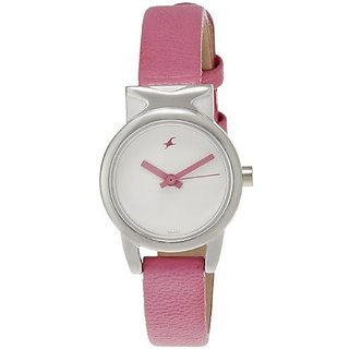 Fastrack Analog White Round Womens Watch-6088SL01