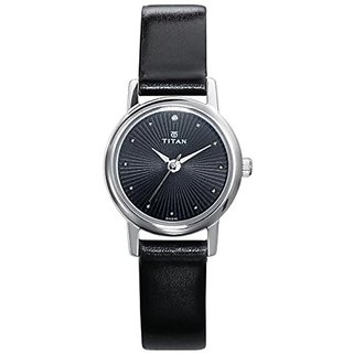Titan Karishma Revive Analog Black Dial Womens Watch-2593SL01
