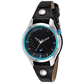 Fastrack Analog Black Round Womens Watch-6156SL01
