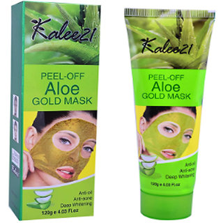 Kalee21 Peel Off Aloe Gold Mask