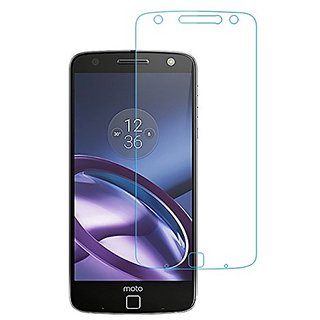 Motorola MB Star Premium Tempered Glass For Moto Z Play (2.5 Clear Transparent)Anti-Scratch