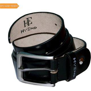 HyEnd Men's/Boys Black Original Leather Formal/Casual Belts