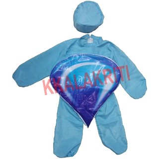 Water Drop Or Nature Theme Fancy Dress Costume For Kids