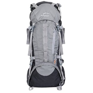 249edfeaf2cf 45%off IFH 5205 Booster GREY Rucksack  Trekking Bag  Backpack 75 Liters  with Rain Cover