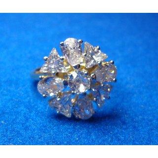 american diamond fancy party wear finger ring