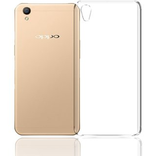 lowest price 87b27 80286 DY Oppo A37 Transparent Soft Silicon Back Case Cover