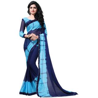 fab valley multicolor georgette designer saree