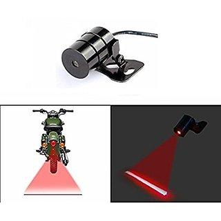 Autonext Bike Rear Laser Safety Line Fog Light Red For Bajaj CT 100