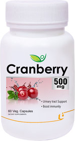 Biotrex Cranberry 500Mg - 60 Veg Capsules