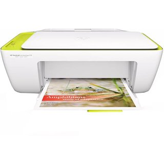 HP DeskJet Ink Advantage 2138 Multi function Printer   White, Ink Cartridge