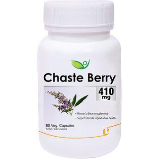 Biotrex Chaste Berry 410 Mg - 60 Veg Capsules