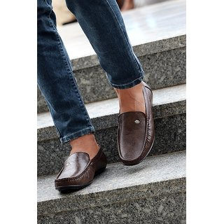 Evolite Brown Stylish Loafers, Smart Casuals for Men and Boys