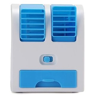 Portable Exclusive Mini Small Fan Cooling Portable Desktop Dual Bladeless water Air Cooler USB