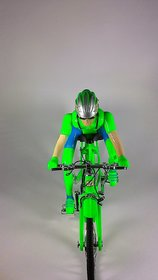 BEN 10 BATTERY OPERATED FOLDABLE BICYCLE WITH MUSIC  LIGHTS