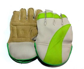 Boys Wicket Keeping Gloves. Color As per Availability, Age Around 14 Years.