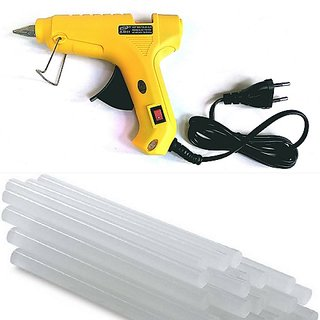 Imstar 40 W Yellow Color Hot Melt Glue Gun with Glue Sticks ,2 Pieces