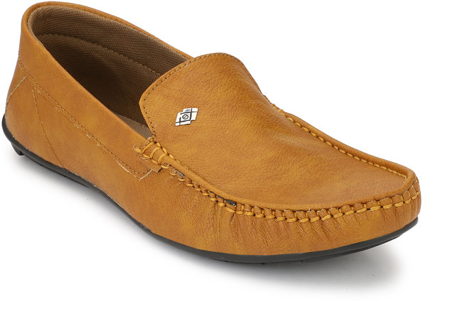 Buy Evolite Tan Stylish Loafers, Smart