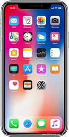 Apple IphoneX (3 GB,64 GB,Silver)