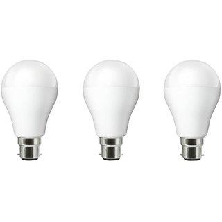 NIPSER 9 Watt LED Bulb ( Set of 3), Premium Quality
