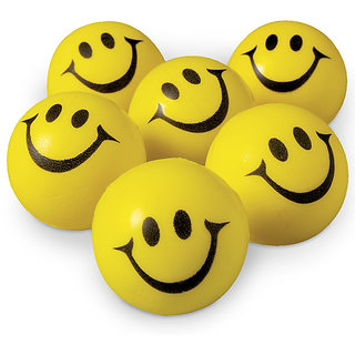 OMCY Smiley Ball for Car (pack of 6)