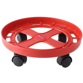 LPG Gas Cylinder Trolley With Wheels,Gas Trolley,Cylinder Stand,Color May Vary
