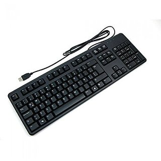 For Dell USB  Quiet Key Wired Keyboard