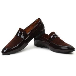 aab37dca823698 Buy Buwch Men Brown Loafer Mocassin Shoe Online @ ₹499 from ShopClues