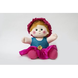 Baby Doll Girl  Sania  Blue/Pink Color by Lovely Toys