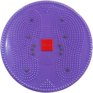 Acupressure Twister Big Disc Acupressure Pyramid  Magnetic Treatment Therapy (Purple)