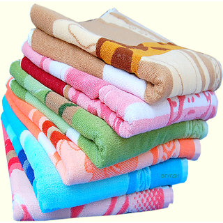 Z Decor 1pcs Large Cotton Designer BathTowels - 30X60 inch-400Gsm-Assorted (A-01)