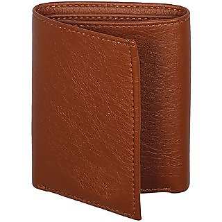 Triple Fold Leather Wallet for men and women