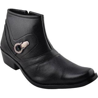 Real Blue men Leather Stylish Slip On Shoe