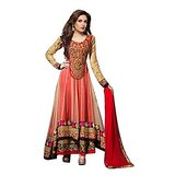 Florence Pink Chanderi Cotton Embroidered Salwar Suit Dupatta Material