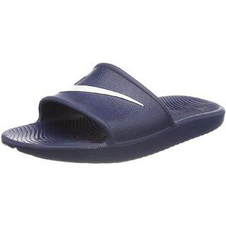2cc0f3d6e5394 Buy Nike Kawa Shower Beach Navy Slide Sandals For Men Online - Get 3 ...