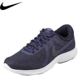 a8e3ba2c61e2 Buy Nike REVOLUTION 4 Blue Sports Running Shoes For Men Online ...