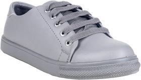 Do Bhai Women's Gray Sneakers