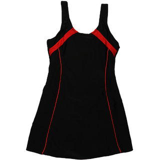Enkay Girls Short Style Plain With Combination Swimwear