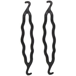 Out Of Box Hair Styling Clip Bun/juda Maker Braid Tool Obb-02-9225 (2 Pieces) Bun