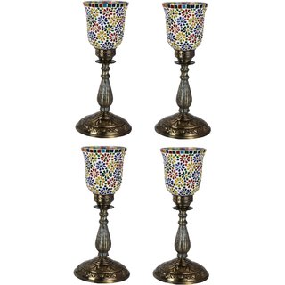 Somil New Designer Central Table Lamp With Colorful Glass Decorative With Colorful Beads & Chips & High Quality Stand dz9