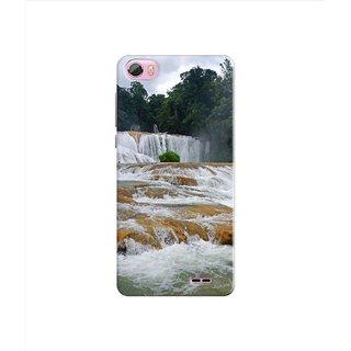 PREMIUM STUFF PRINTED BACK CASE COVER FOR LYF WATER F1S DESIGN 5230